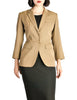 Alaïa Vintage Beige Tailored Blazer - Amarcord Vintage Fashion  - 1