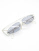 Mikli Vintage Clear Asymmetrical Space Sunglasses 305 100 - Amarcord Vintage Fashion  - 4