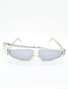 Mikli Vintage Clear Asymmetrical Space Sunglasses 305 100 - Amarcord Vintage Fashion  - 2