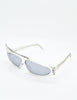 Mikli Vintage Clear Asymmetrical Space Sunglasses 305 100 - Amarcord Vintage Fashion  - 7