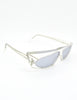 Mikli Vintage Clear Asymmetrical Space Sunglasses 305 100 - Amarcord Vintage Fashion  - 8