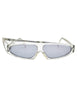 Mikli Vintage Clear Asymmetrical Space Sunglasses 305 100 - Amarcord Vintage Fashion  - 1