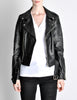 Amarcord Recycled Leather Motorcycle Jacket - Amarcord Vintage Fashion  - 6