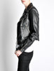 Amarcord Recycled Leather Motorcycle Jacket - Amarcord Vintage Fashion  - 5