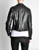 Amarcord Recycled Leather Motorcycle Jacket - Amarcord Vintage Fashion  - 9