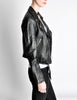 Amarcord Recycled Leather Motorcycle Jacket - Amarcord Vintage Fashion  - 7