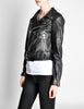Amarcord Recycled Leather Motorcycle Jacket - Amarcord Vintage Fashion  - 8