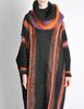 B. Altman & Co. Vintage Striped Knit Mohair Poncho - Amarcord Vintage Fashion  - 11