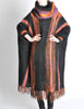 B. Altman & Co. Vintage Striped Knit Mohair Poncho - Amarcord Vintage Fashion  - 6
