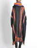 B. Altman & Co. Vintage Striped Knit Mohair Poncho - Amarcord Vintage Fashion  - 9