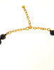 Balenciaga Vintage Black & Gold Rhinestone Necklace - Amarcord Vintage Fashion  - 7