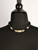 Balenciaga Vintage Black & Gold Rhinestone Necklace - Amarcord Vintage Fashion  - 6