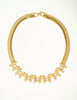 Balenciaga Vintage Gold Rhinestone Necklace - Amarcord Vintage Fashion  - 2