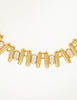 Balenciaga Vintage Gold Rhinestone Necklace - Amarcord Vintage Fashion  - 3