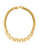 Balenciaga Vintage Gold Rhinestone Necklace - Amarcord Vintage Fashion  - 1