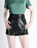 Vintage 1970s Black Sequin Hot Pant Shorts - Amarcord Vintage Fashion  - 4