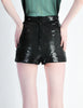 Vintage 1970s Black Sequin Hot Pant Shorts - Amarcord Vintage Fashion  - 6