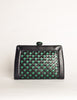 Bottega Veneta Vintage Intrecciato Blue & Green Woven Leather Clutch Bag - Amarcord Vintage Fashion  - 3