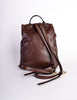 Bottega Veneta Vintage Intrecciato Brown Woven Leather Backpack - Amarcord Vintage Fashion  - 8