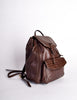 Bottega Veneta Vintage Intrecciato Brown Woven Leather Backpack - Amarcord Vintage Fashion  - 3