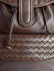 Bottega Veneta Vintage Intrecciato Brown Woven Leather Backpack - Amarcord Vintage Fashion  - 6