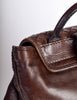 Bottega Veneta Vintage Intrecciato Brown Woven Leather Backpack - Amarcord Vintage Fashion  - 10