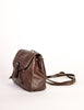 Bottega Veneta Vintage Intrecciato Brown Woven Leather Mini Backpack - Amarcord Vintage Fashion  - 3