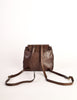 Bottega Veneta Vintage Intrecciato Brown Woven Leather Mini Backpack - Amarcord Vintage Fashion  - 5