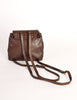 Bottega Veneta Vintage Intrecciato Brown Woven Leather Mini Backpack - Amarcord Vintage Fashion  - 6