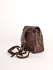 Bottega Veneta Vintage Intrecciato Brown Woven Leather Mini Backpack - Amarcord Vintage Fashion  - 7