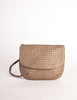 Bottega Veneta Vintage Intrecciato Mushroom Brown Woven Leather Shoulder Bag - Amarcord Vintage Fashion  - 2