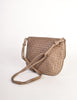 Bottega Veneta Vintage Intrecciato Mushroom Brown Woven Leather Shoulder Bag - Amarcord Vintage Fashion  - 7