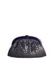 Bottega Veneta Vintage Intrecciato Navy Blue Woven Leather Clutch Bag - Amarcord Vintage Fashion  - 1
