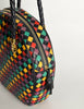 Bottega Veneta Vintage Intrecciato Multicolor Woven Leather Shoulder Bag - Amarcord Vintage Fashion  - 11