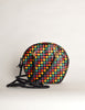 Bottega Veneta Vintage Intrecciato Multicolor Woven Leather Shoulder Bag - Amarcord Vintage Fashion  - 2