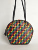 Bottega Veneta Vintage Intrecciato Multicolor Woven Leather Shoulder Bag - Amarcord Vintage Fashion  - 3