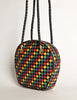 Bottega Veneta Vintage Intrecciato Multicolor Woven Leather Shoulder Bag - Amarcord Vintage Fashion  - 7