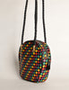 Bottega Veneta Vintage Intrecciato Multicolor Woven Leather Shoulder Bag - Amarcord Vintage Fashion  - 10