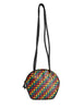 Bottega Veneta Vintage Intrecciato Multicolor Woven Leather Shoulder Bag - Amarcord Vintage Fashion  - 1