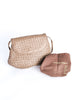 Bottega Veneta Vintage Intrecciato Mushroom Brown Woven Leather Crossbody Bag - Amarcord Vintage Fashion  - 6