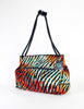 Bottega Veneta Vintage Colorful Striped Terry Cloth Bag - Amarcord Vintage Fashion  - 3