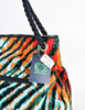 Bottega Veneta Vintage Colorful Striped Terry Cloth Bag - Amarcord Vintage Fashion  - 6