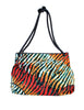 Bottega Veneta Vintage Colorful Striped Terry Cloth Bag - Amarcord Vintage Fashion  - 1