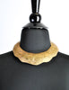 Vintage Brass Tin Tribal Choker Necklace - Amarcord Vintage Fashion  - 5