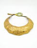 Vintage Brass Tin Tribal Choker Necklace - Amarcord Vintage Fashion  - 9