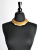 Vintage Brass Tin Tribal Choker Necklace - Amarcord Vintage Fashion  - 4