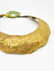 Vintage Brass Tin Tribal Choker Necklace - Amarcord Vintage Fashion  - 6