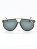 Carrera Vintage Smoke Grey Aviator Sunglasses 5415 - Amarcord Vintage Fashion  - 2