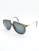 Carrera Vintage Smoke Grey Aviator Sunglasses 5415 - Amarcord Vintage Fashion  - 3