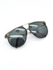 Carrera Vintage Smoke Grey Aviator Sunglasses 5415 - Amarcord Vintage Fashion  - 4